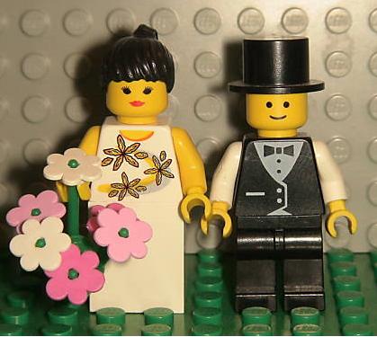 "LEGO Minifig ""I Do"""