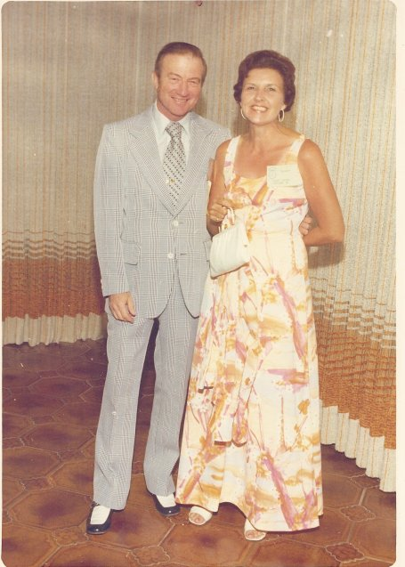 I love this photo of my Grandparents. It always make me smile!