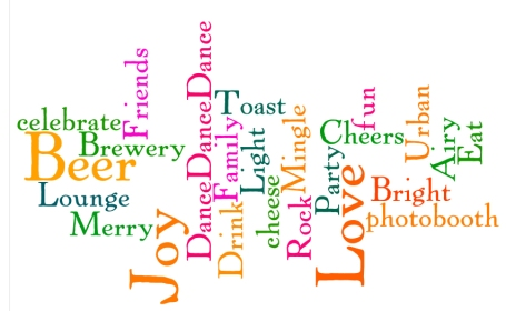 Our Reception Wordle